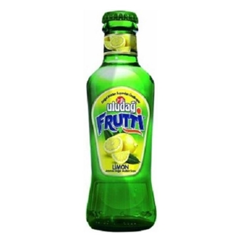 Uludağ Frutti Limonlu Maden Suyu 200 ml 24'lü Paket