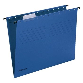 Leitz 6515 Delta Askılı Dosya Telsiz Mavi 25'li Paket