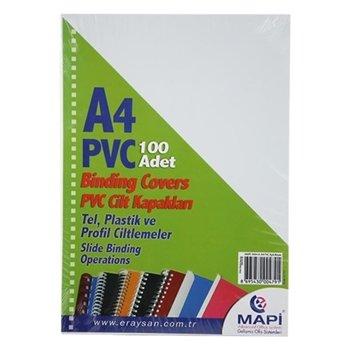 Mapi Pvc A4 160 Micron Cilt Kapağı 100'lü
