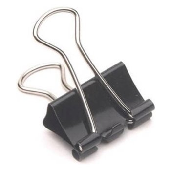 Mas 920 Omega Çelik Kıskaç 19 mm Siyah 12'li Paket