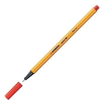 Stabilo Point 88 Keçeli Kalem 0.4 mm Kırmızı