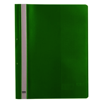 Noki Plastik Telli Dosya XL 4820 Yeşil 50'li Paket