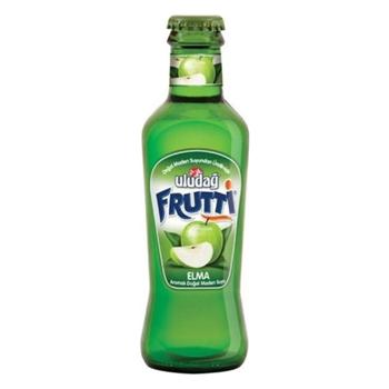 Uludağ Frutti Elma Aromalı Maden Suyu 200 ml 24'lü Paket