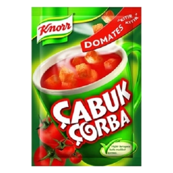 Knorr Çabuk Çorba Domates 24' lü Paket