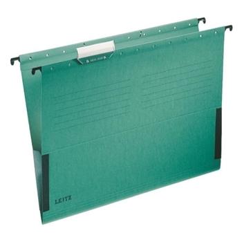 Leitz 6515 Delta Askılı Dosya Telsiz Yeşil 25'li Paket
