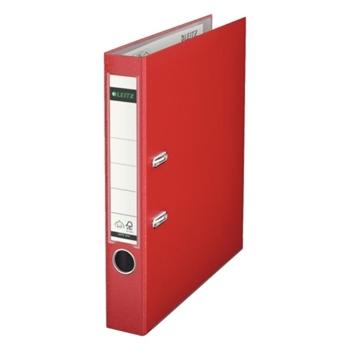 Leitz 1015 Plastik Klasör Dar Kırmızı