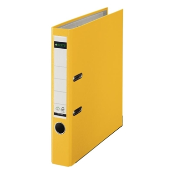 Leitz 1015 Plastik Klasör Dar Sarı