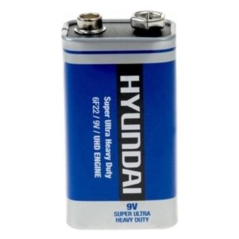 Hyundai Manganez Pil 9 Volt Tekli