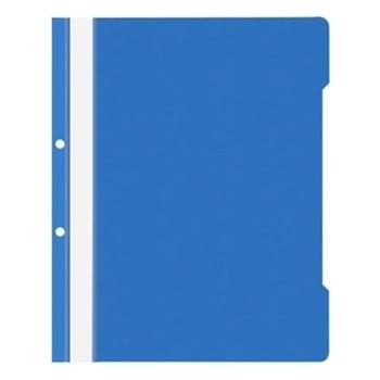 Noki Plastik Telli Dosya XL 4820 Mavi 50'li Paket