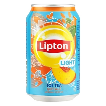 Lipton Ice Tea Light Şeftali 330 ml 24'lü Paket