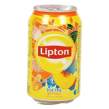 Lipton Ice Tea Şeftali 330 ml 24'lü Paket