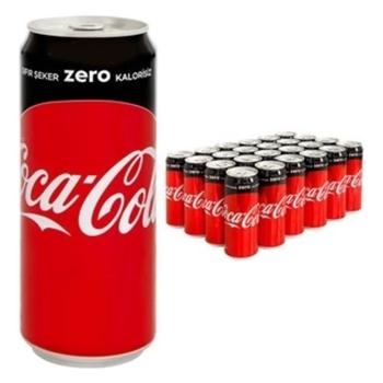Coca-Cola Zero 330 ml 24'lü Paket