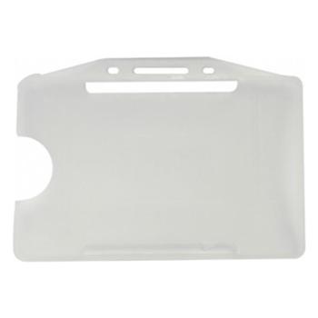 Mapi Plastik Yatay Kart Kabı Beyaz 50'li
