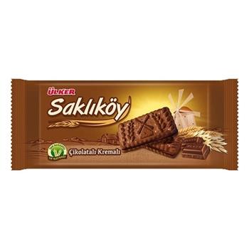 Ülker Saklıköy Çikolatalı Kremalı Bisküvi 87 gr 24'lü Koli
