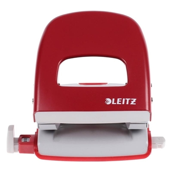 Leitz 5008 Delgeç 30 Sayfa Kapasiteli Kırmızı