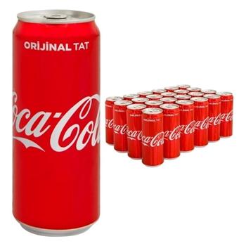 Coca-Cola Kutu 330 ml 24'lü Paket