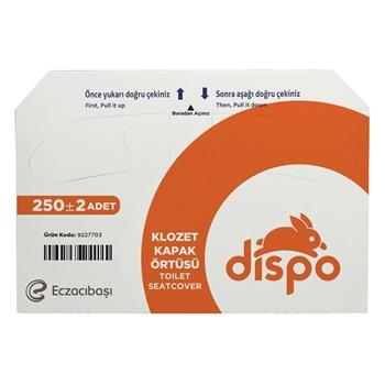 Eczacıbaşı Dispo Klozet Kapak Örtüsü 250'li Paket
