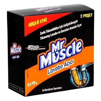 Mr. Muscle Granül Lavabo Açıcı 2'li