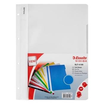 Esselte 4199 Telli Dosya Beyaz 50'li Paket