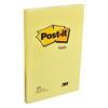 3M Post-it 659 Yapışkanlı Not Kağıdı 102 mm x 152 mm Sarı 100 Yaprak