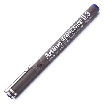 Artline 233 Çizim Kalemi 0.3 mm Mavi