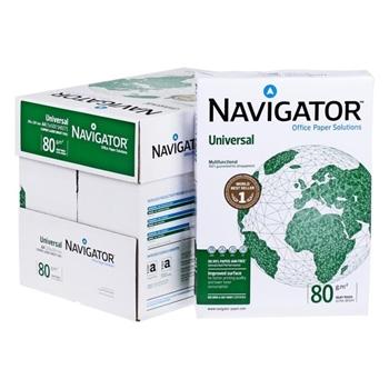 Navigator A4 Fotokopi Kağıdı 80 gr 1 Koli (5 Paket)
