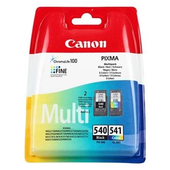Canon 540 Siyah/541 Renkli Kartuş (2'li Paket) PG-540 + CL-541