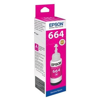 Epson T6643 Kırmızı (Magenta) Kartuş