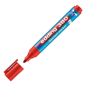 Edding 380 Flipchart Kalem Kırmızı