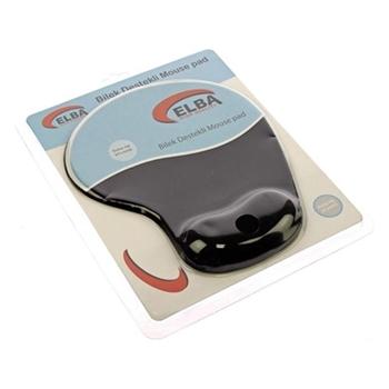 Elba K06152 Jel Bilek Destekli Mouse Pad Siyah
