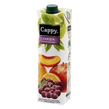 Cappy Meyve Suyu Karışık 1 lt 12'li Paket
