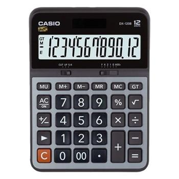 Casio DX-120S Masaüstü Hesap Makinesi 12 Hane