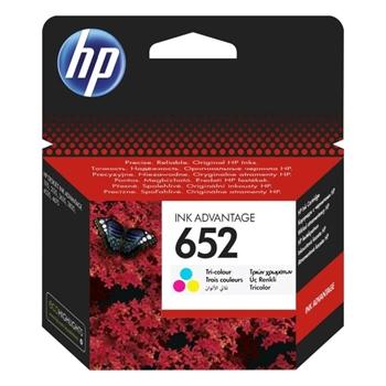 HP 652 F6V24AE Üç Renkli Kartuş
