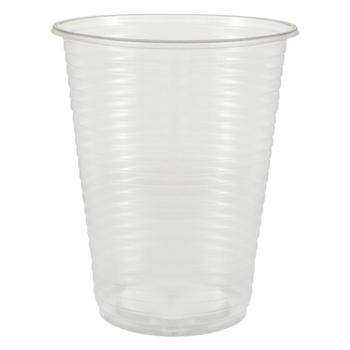 Plastik Bardak 180 ml Şeffaf 3000'li Bardak Dispenseri Hediyeli