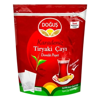 Doğuş Karadeniz Tiryaki Demlik Poşet Çay 40 gr 25'li