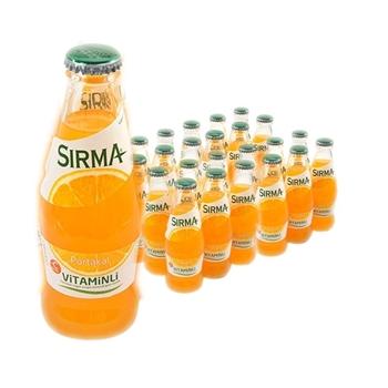 Sırma C-Plus Portakallı Soda 200 ml 24'lü Paket