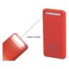 S-link IP-958 Dokunmatik Led Lambalı 10000 mAh Powerbank Kırmızı