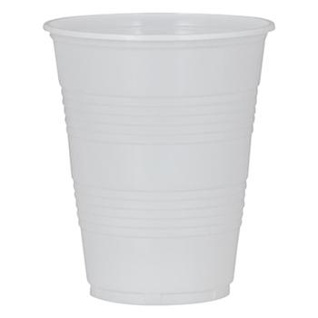 Huhtamaki Plastik Bardak 180 ml Beyaz 100 Adet