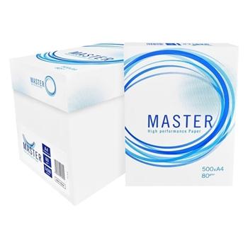 Master A4 Fotokopi Kağıdı 80 gr 1 Koli (5 Paket)