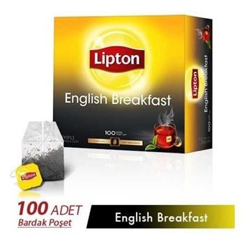 Lipton English Breakfast Bardak Poşet Çay 100'lü