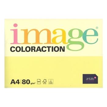 Image Coloraction A4 Fotokopi Kağıdı 80 gr Sarı 1 Paket (500 Sayfa)