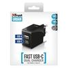 Trust 21589 USB-C VE USB-A Akıllı Duvar Şarj Cihazı