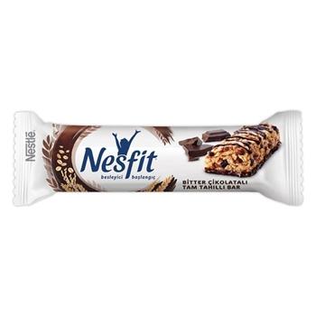 Nestle Nesfit Bitter Çikolatalı Tam Tahıllı Bar 23,5 gr 16'lı Paket