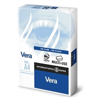 Vera A4 Fotokopi Kağıdı 80 gr 1 Paket (500 Sayfa)