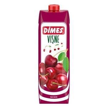 Dimes Meyve Suyu Vişne 1 lt 12'li Paket