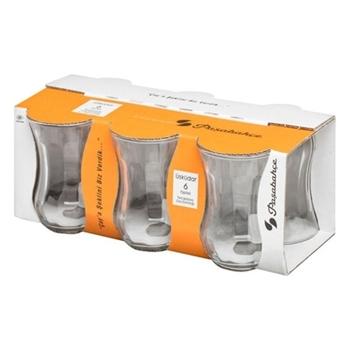 Paşabahçe 42021 Optikli Küçük Çay Bardağı 6'lı