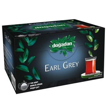 Doğadan Earl Grey Demlik Poşet Çay 100'lü