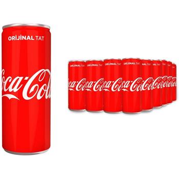 Coca-Cola Kutu 250 ml 24'lü Paket