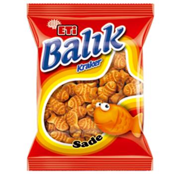 Eti Balık Kraker 40 gr 16'lı Paket