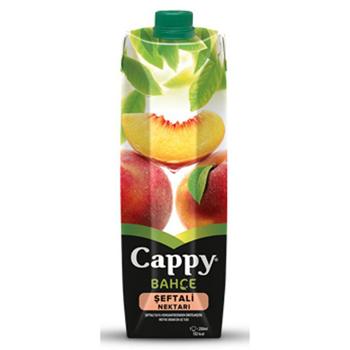 Cappy Meyve Suyu Şeftali 1 Litre 12'li